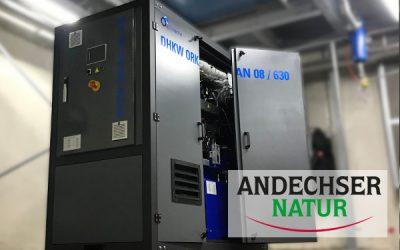 DHKW Orkan als integraler Bestandteil der Energieeffizienzlösung bei der Andechser Molkerei