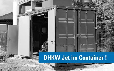 DHKW Jet im Container – Mobile Lösung und Referenz mit hohem Mehrwert