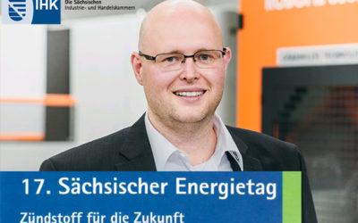 """17. Sächsischer Energietag """"Zündstoff für die Zukunft"""""""