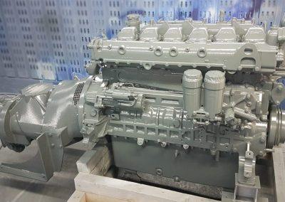 Bildreihe: Produktionseinblicke Montage Druckluftheizkraftwerke Taifun-Klasse