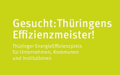 Thüringer EnergieEffizienzpreis  – Wir sind nominiert!