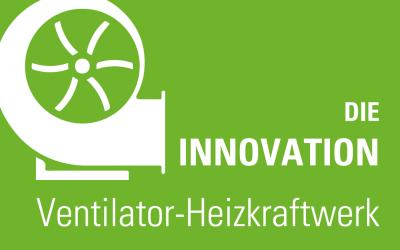 Eine echte Innovation, das Ventilator-Heizkraftwerk! Wärme und lüftungstechnische Anlage für die Oberflächenbehandlung
